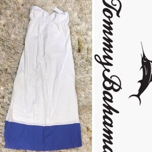 Tommy Bahama Linen Maxi Dress L